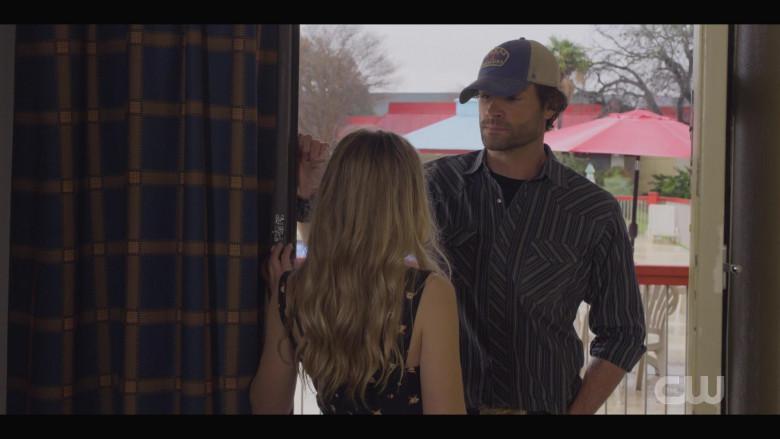 '47 Brand 'Texas Rangers' Cap Worn by Actor Jared Padalecki as Cordell in Walker S01E05 TV Show (1)