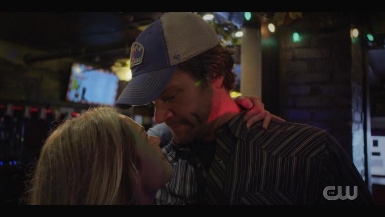 '47 Brand 'Texas Rangers' Cap Worn by Actor Jared Padalecki as Cordell in Walker S01E05 TV Show (2)
