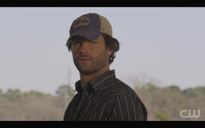 '47 Brand 'Texas Rangers' Cap Worn by Actor Jared Padalecki as Cordell in Walker S01E05 TV Show (3)