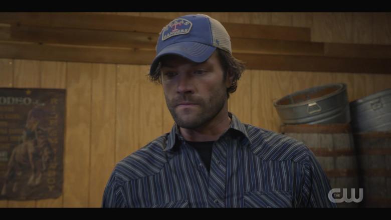 '47 Brand 'Texas Rangers' Cap Worn by Actor Jared Padalecki as Cordell in Walker S01E05 TV Show (4)