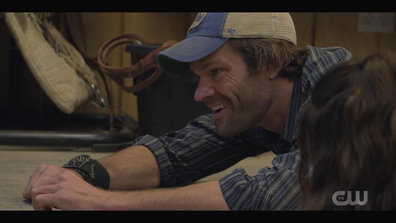 '47 Brand 'Texas Rangers' Cap Worn by Actor Jared Padalecki as Cordell in Walker S01E05 TV Show (6)