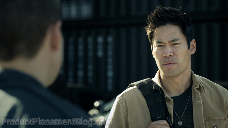 5.11 Tactical Backpack of David Lim as Victor Tan in S.W.A.T. S04E09 Next of Kin (2021)