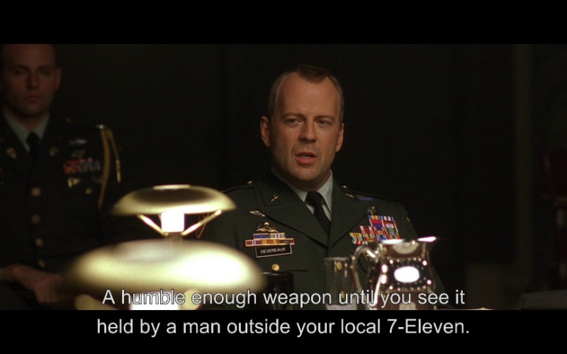7-Eleven in The Siege (1998)