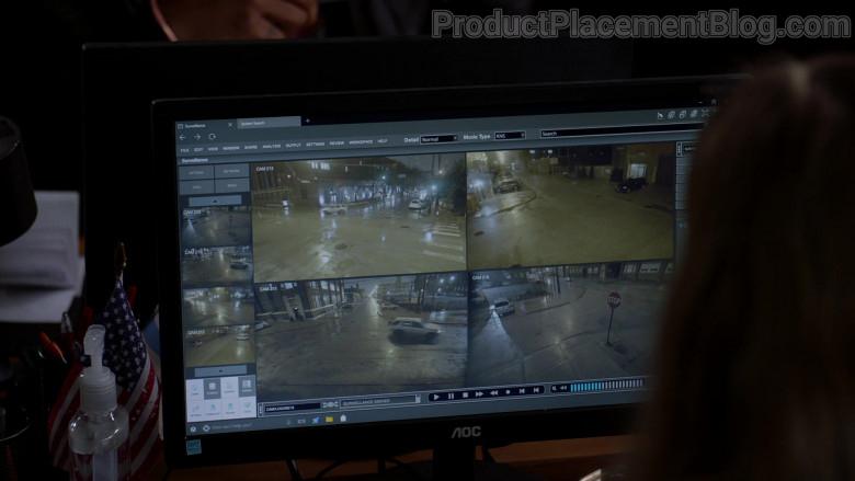 AOC Monitors in Chicago P.D. S08E06 TV Show (1)