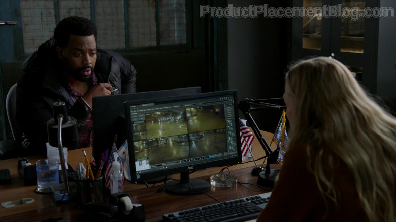 AOC Monitors in Chicago P.D. S08E06 TV Show (2)