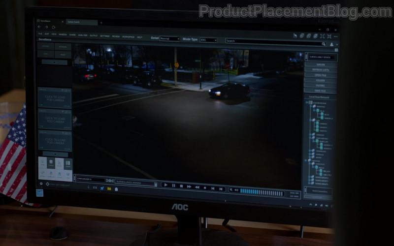 AOC Monitors in Chicago P.D. S08E06 TV Show (3)