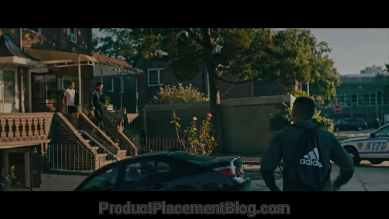 Adidas Backpack of Taylor Takahashi as Alfred Chin in Boogie (2021)
