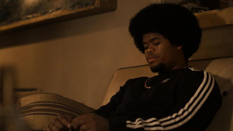 Adidas Black Sweatshirt of Isaiah John as Leon Simmons in Snowfall S04E02 (1)