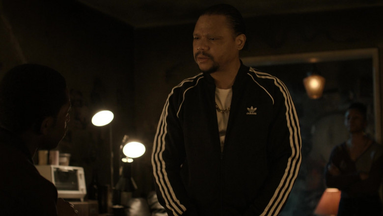 Adidas Black Tracksuit Outfit For Men in Snowfall S04E01 (3)