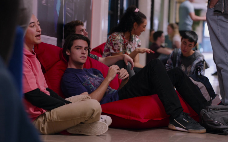 Adidas Continental 80 Sneakers of Felix Mallard as Marcus in Ginny & Georgia S01E03 TV Show by Netflix