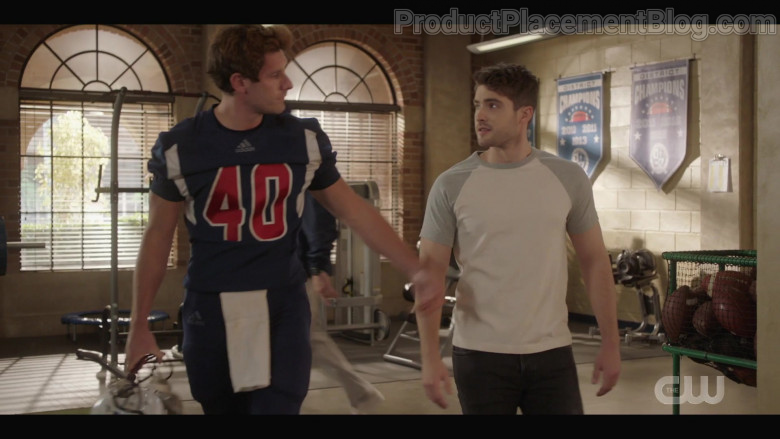 Adidas Football Men's Outfit in All American S03E04 My Mind's Playing Tricks on Me (2021)