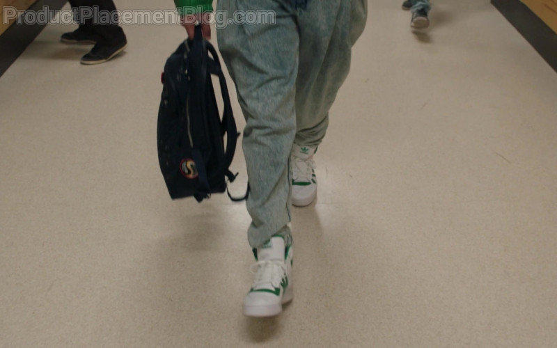 Adidas Men's Sneakers of Bradley Constant in Young Rock S01E01 Working the Gimmick (2021)