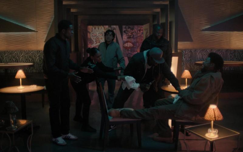 Adidas Men's Sneakers of Damson Idris as Franklin Saint in Snowfall S04E02 Weight (2021)