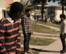 Adidas Men's Sweatpants (Black) in Snowfall S04E01 Re-Entry...