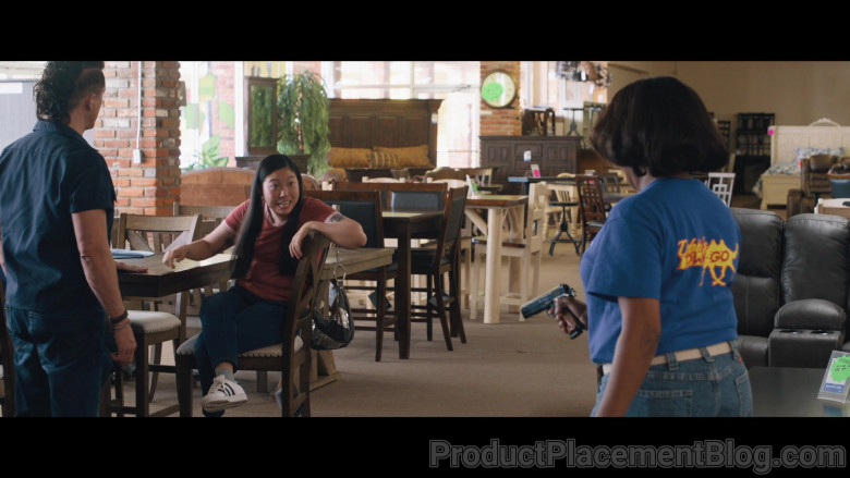 Adidas Women's Sneakers of Awkwafina as Mina in Breaking News in Yuba County (1)