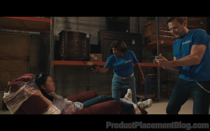 Adidas Women's Sneakers of Awkwafina as Mina in Breaking News in Yuba County (2)
