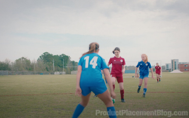 Adidas Women's Soccer Outfits in The Map of Tiny Perfect Things (2021)