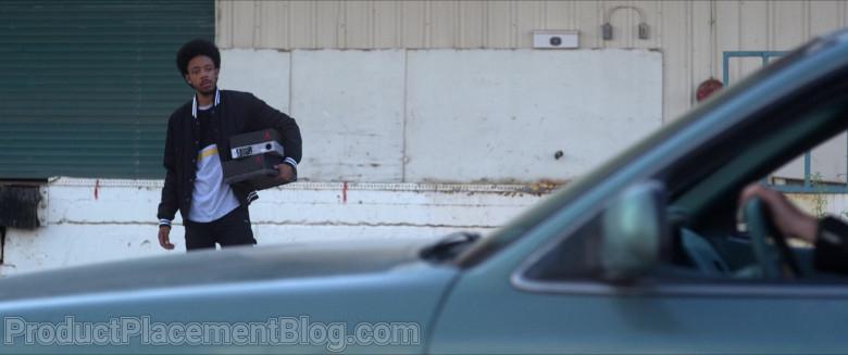 Air Jordan Shoe Boxes Held by Darrell Britt-Gibson as Rayford in Silk Road (1)