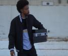 Air Jordan Shoe Boxes Held by Darrell Britt-Gibson as Rayfor...
