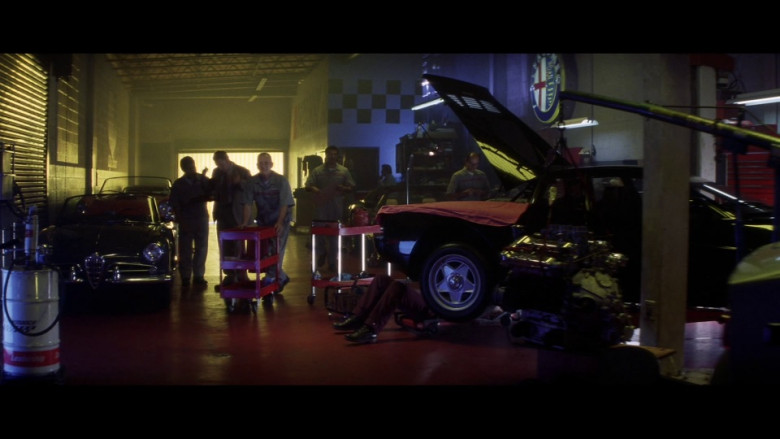 Alfa Romeo Sign in Gone in 60 Seconds (2000)