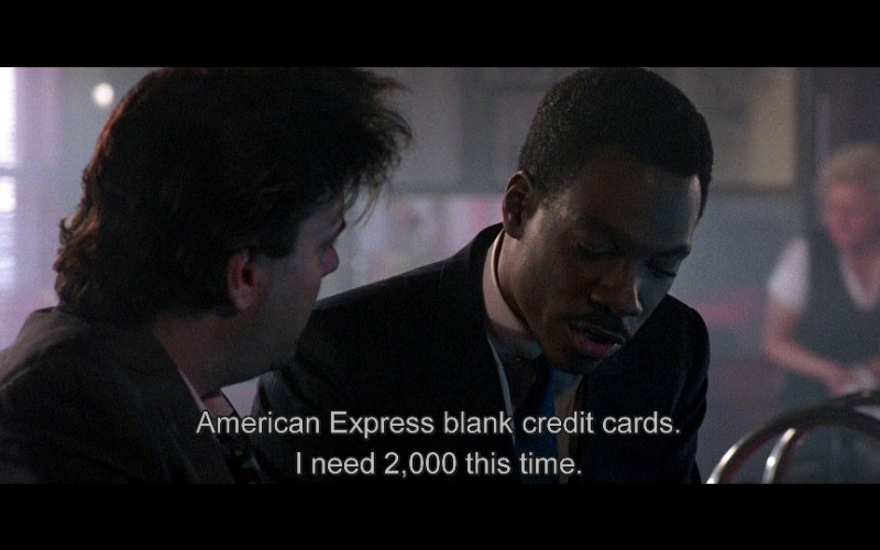 American Express in Beverly Hills Cop 2 (1987)
