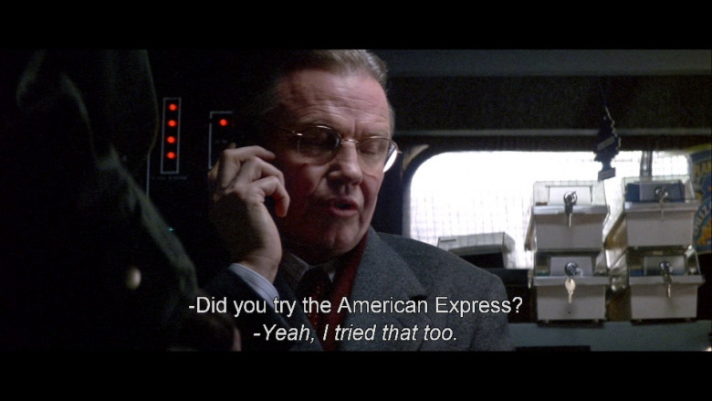 American Express in Enemy of the State (1998)