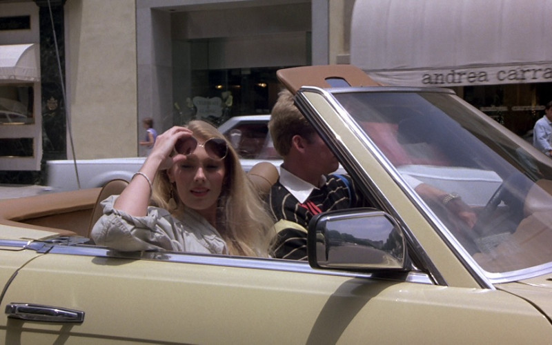 Andrea Carrano Store in Beverly Hills Cop (1984)