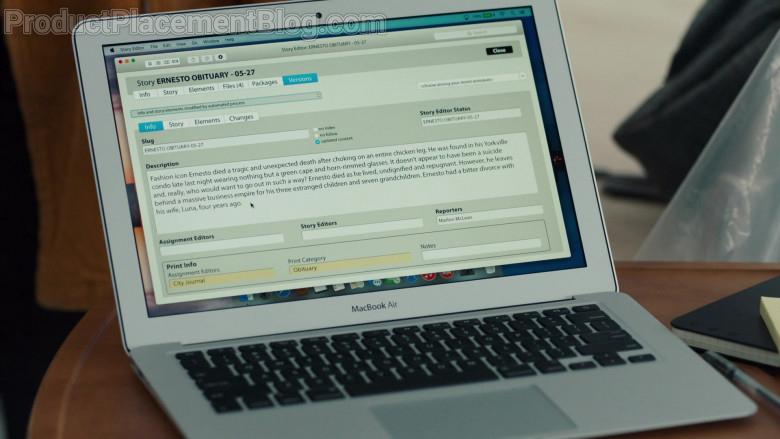 Apple MacBook Air Laptop in Nurses S01E09 (1)