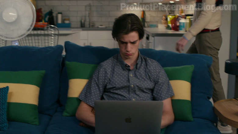 Apple MacBook Laptop Used by Daniel DiMaggio as Oliver Otto in American Housewife S05E09 The Heist (2021)