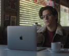 Apple MacBook Laptop of Cole Sprouse as Jughead Jones in Riv...
