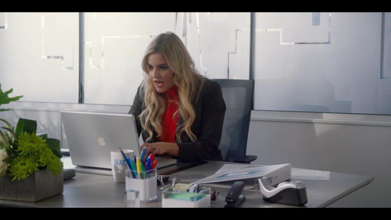 Apple MacBook Laptop of Jenna Rosenow as Kimber Watts in Firefly Lane S01E02 Oh! Sweet Something (2021)