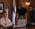 Apple MacBook Laptop of Scott Porter as Mayor Paul Randolph ...