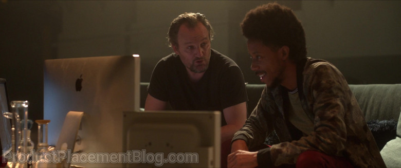 Apple Thunderbolt Display Monitor Used by Darrell Britt-Gibson as Rayford in Silk Road (6)