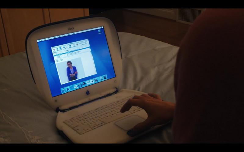 Apple iBook Laptop of Sarah Chalke as Kate Mularkey in Firefly Lane S01E02 Oh! Sweet Something (2021)