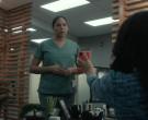 Apple iPhone Smartphone Held by Actress in Coroner S03E03 S...