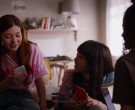 Apple iPhone Smartphone of Chelsea Clark as Norah in Ginny &...