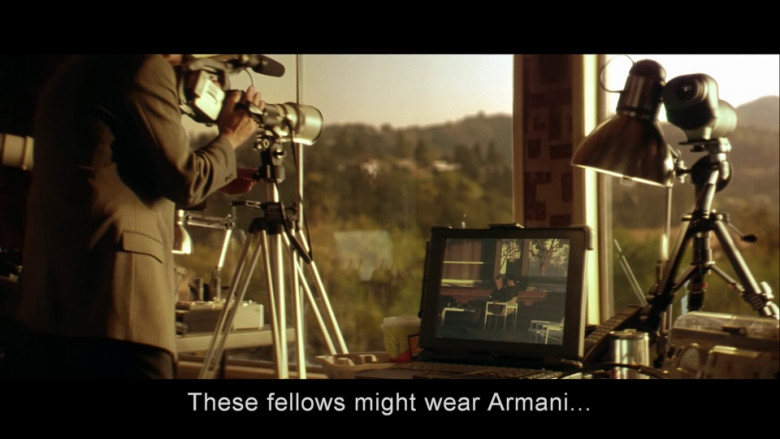 Armani Menswear in Swordfish (2001)