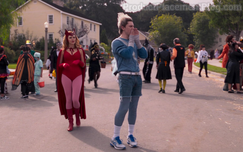 Asics Men's Sneakers of Evan Peters as Pietro Maximoff in WandaVision S01E06
