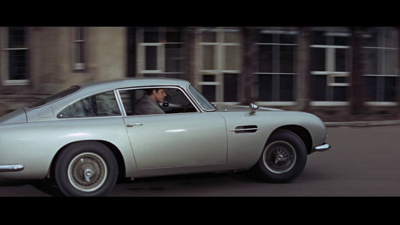 Aston Martin DB5 Car in Thunderball (1965)