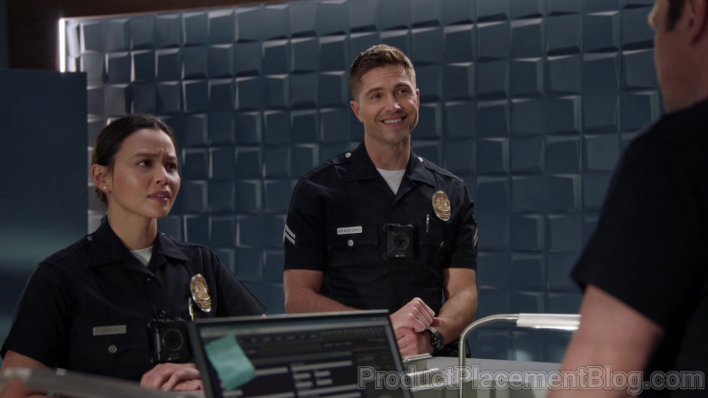 Axon Body Cameras Used by Police Officers in The Rookie S03E05 (3)