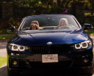 BMW 4-Series Convertible Blue Car of Brianne Howey in Ginny ...