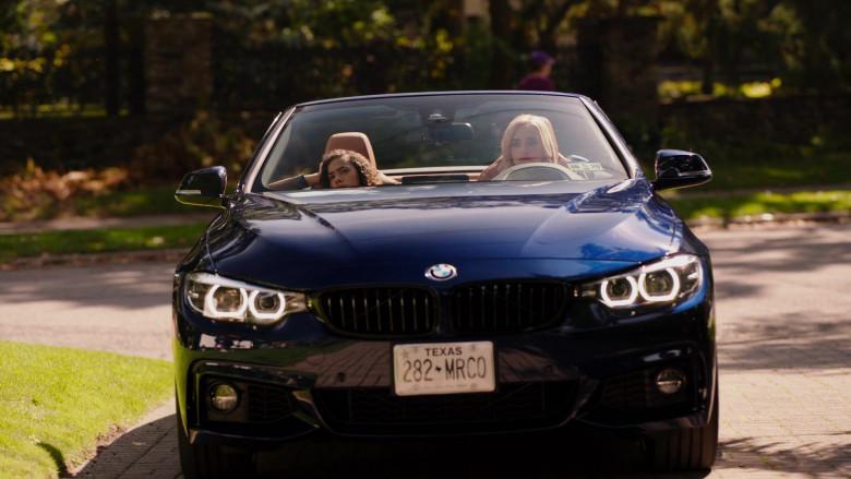 BMW 4-Series Convertible Car of Brianne Howey in Ginny & Georgia S01E04 TV Series
