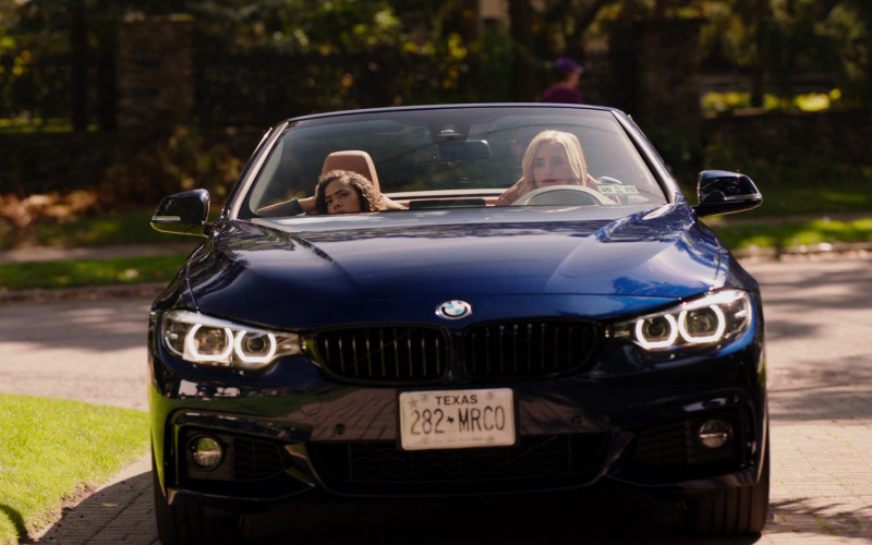 BMW 4-Series Convertible Car of Brianne Howey in Ginny & Georgia S01E04 TV Series