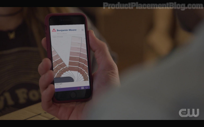 Benjamin Moore & Co. Paint Website in Walker S01E04 Don't Fence Me In (2021)