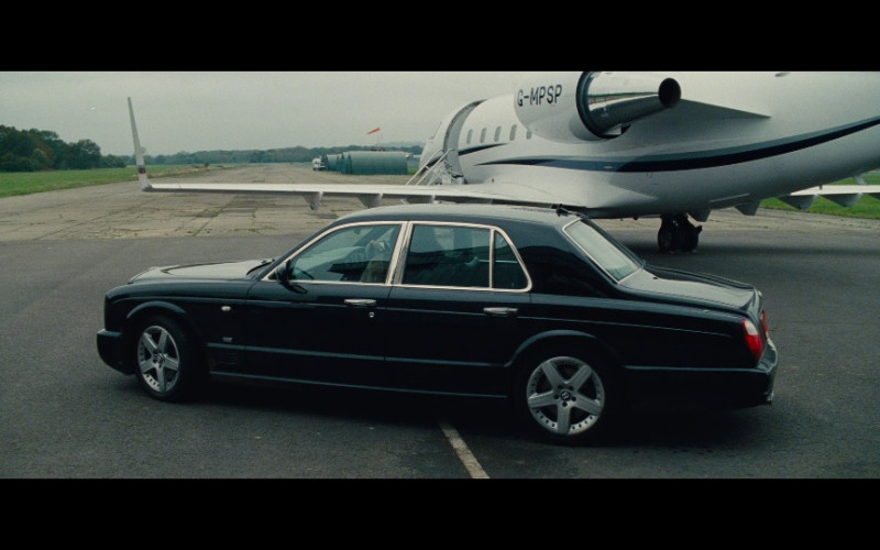 Bentley Arnage T Car in Red 2 (2013)