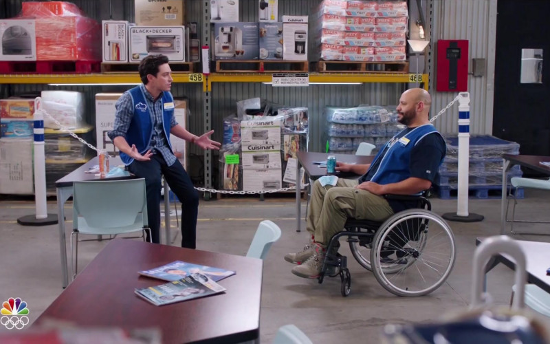 Black + Decker, Cuisinart and Vizzy Hard Seltzer in Superstore S06E08 Ground Rules (2021)