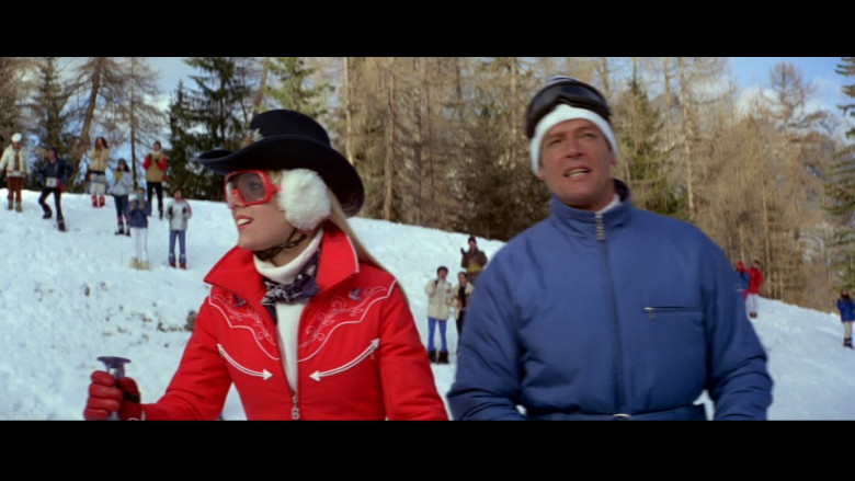 Bogner Red Ski Suit of Lynn-Holly Johnson as Bibi Dahl in For Your Eyes Only (1981)