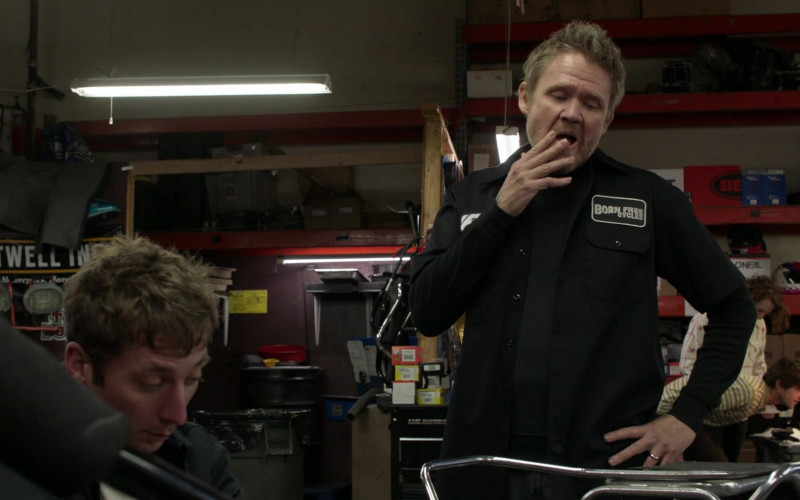 Born Free Cycles Motorcycle repair shop in Burbank, California in Shameless S11E05 TV Series 2021 (1)
