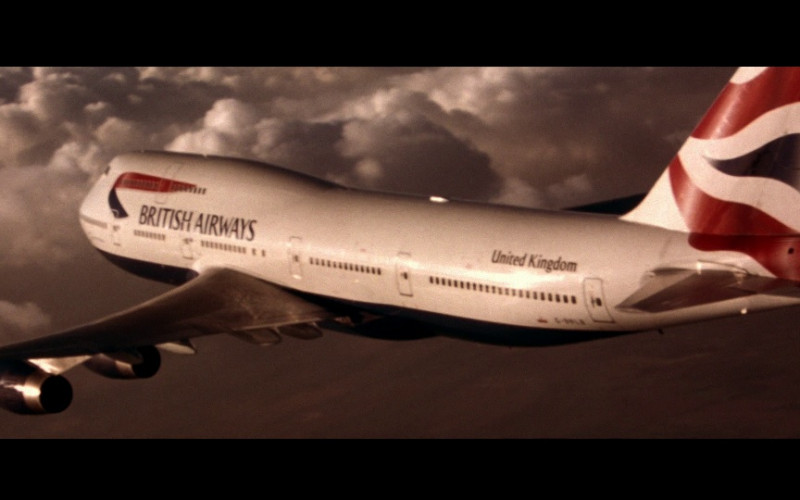 British Airways in Die Another Day (2002)