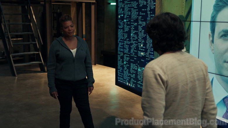 Burberry Women's Hoodie of Queen Latifah as Robyn McCall in The Equalizer S01E02 (2)